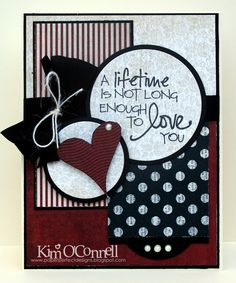 """Paper Perfect Designs by Kim O'Connell: Verve Stamps """"Wings of Love"""" and """"Stringer Love"""" stamp sets"""