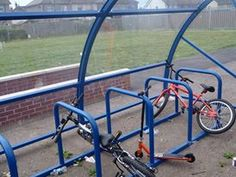 The new Bike Compound at Willows High School
