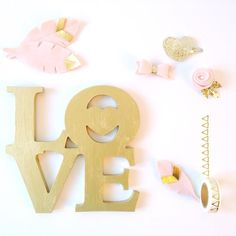 Get your sparkle on!  I adore the pink and gold combo!  Which color combo do you love right now?