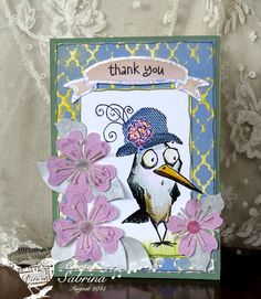 Thanks in a Hat by Cook22 - Cards and Paper Crafts at Splitcoaststampers