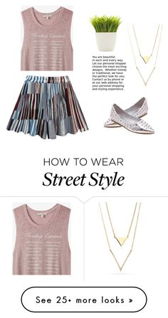 """Monday's look"" by lee77 on Polyvore featuring Express and Dot & Bo"