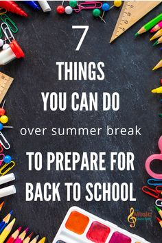 """Barbecues, days at the zoo, traveling… But there's always that little voice in the back of my mind saying """"You should be getting ready…"""" That voice may be louder or quieter for you, but it's right: We should remember that summer won't last forever! Here are some things you can do to prepare for the upcoming school year. Music Teachers, Music Classroom, Teaching Music, Music Education, Health Education, Physical Education, Music Lesson Plans, Music Lessons, Elementary Music"""