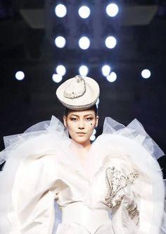 The Stunning ❤Liu Wen❤ at Jean Paul Gaultier Haute Couture Fall Winter 2013-14 Show