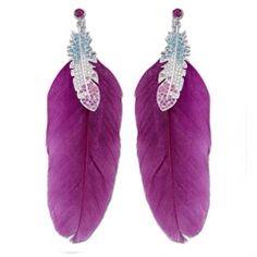 SWAROVSKI / Tampico Multicolored Pierced Earrings