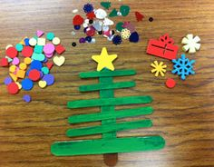 This holiday craft project is fun, easy, and uses items you may already have in the classroom.