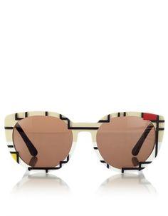 Mondrian Cat Eye Sunglasses Cutler and Gross