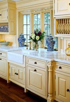 Those cabinets though