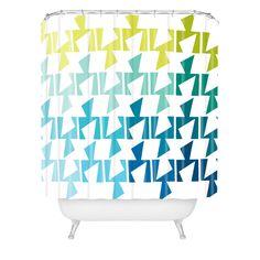Karen Harris Bravo Cool Shower Curtain   DENY Designs Home Accessories