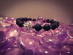 Bracelet to end domestic violence by TECBeads on Etsy