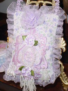 Lavendar Victorian Sachet by rosepretties on Etsy