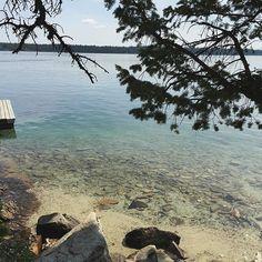 Jenny Lake // Grand Teton NP⠀ ⠀ ✨August 2015⠀ @grandtetonnps