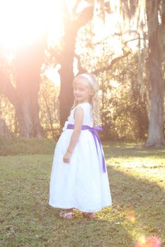 READY TO SHIP 25% Off Size 6 Girls White Lace and Satin Formal Flowergirl Fancy Dress by ImpactInspiredShop, $44.99