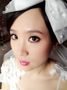 Japanese doll style/Asian makeup by sherry Hu