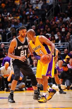Kobe Bryant  Two of the best in their era.