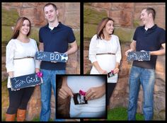I'm pretty sure I'm going to do this!! Gender reveal photo