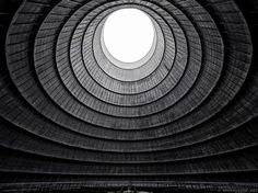 24. Cooling tower of an abandoned power plant