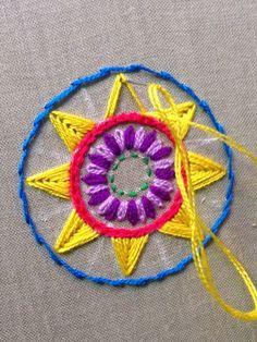 55c65a7fc4a Cómo bordar triángulos pequeños con puntada recta  María Tenorio
