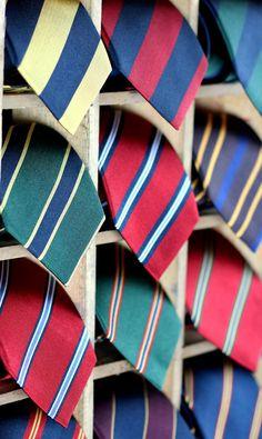 New Repp-Stripe & Regimental Striped Tie Collection Preppy Mens Fashion, Best Mens Fashion, Suit Fashion, Fashion Shoes, Modern Gentleman, Gentleman Style, Prep Style, Men's Style, Men Style Tips