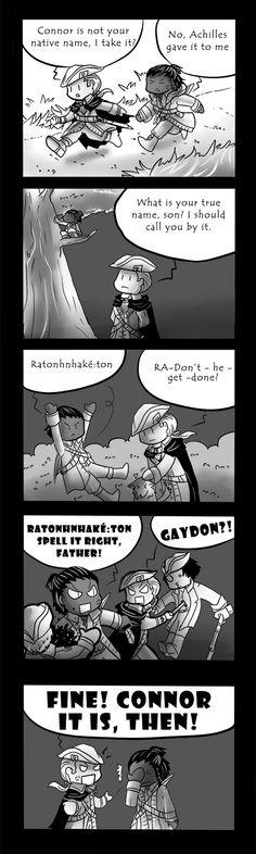 Misadventure042-AC3: Ratonhnhake:ton by RinnKruskov.deviantart.com on @DeviantArt