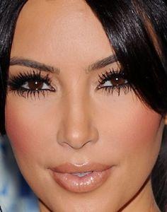 Always a fan of Kim's makeup.