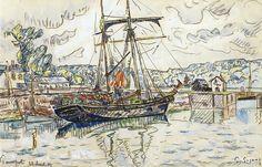 Paul Signac - Paimpol, 1927. Картины с аукционов Sotheby `s