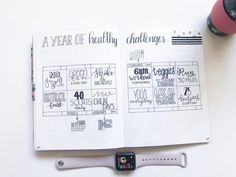 Bullet Journal Challenge: A Year of Healthy Challenges