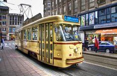 Hoboken tram in Antwerp, Belgien
