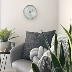 For ultra minimalist styling and sleek refinement, the Element Silent Wall Clock, Chrome, by London Clock Company is the perfect timepiece. London Clock, Chrome, Minimalist, Throw Pillows, Bed, Wall, Style, Swag, Toss Pillows