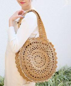 Carefully Crafted Beautiful Crochet Bag Models – Page 11 of 16 - Amigurumi Models Diy Crochet Bag, Crotchet Bags, Knitted Bags, Crochet Handbags, Crochet Purses, Purse Patterns, Crochet Patterns, Sac Granny Square, Crochet Shoulder Bags