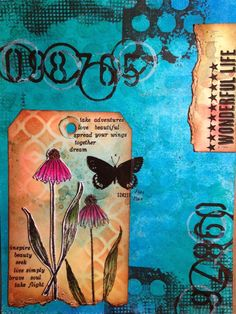Paperie Petals: Art Journaling - Wonderful Life