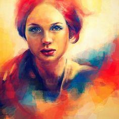 Alice X. Zhang, 1988 ~ Pop Art digital painter | Tutt'Art@ | Pittura * Scultura * Poesia * Musica |