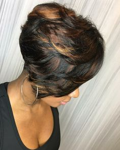 Shared by Carla Short Sassy Hair, Cute Hairstyles For Short Hair, Pretty Hairstyles, Short Hair Cuts, Short Hair Styles, Bob Styles, Love Hair, Great Hair, My Hairstyle