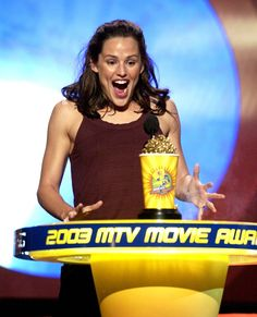 Pin for Later: Why Jennifer Garner Is Our Favorite Goofy Girl Next Door Like, Really, Really Excited