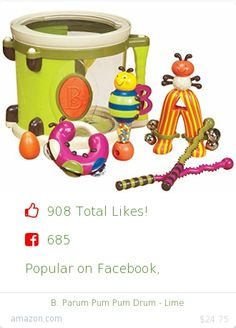Top christmas gift on Facebook.  Top christmas gift on undefined 908 people likes on Internet. 685 facebook likes. 223 thumbs-up on .undefined b amazon christmas gift. b parum pum pum drum lime from amazon christmas gifts. http://www.MostLikedGifts.com/top-popular-christmas-gifts/amazom-christmas-gift-B003WE34HC-b-parum-pum-pum-drum-lime
