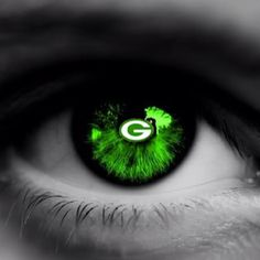 The G of my eye!  Go Pack Go!