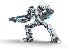 Awesome Robots | Guardor 3d robot by jossdiim 30 Awesome 3D Robots Illustrations