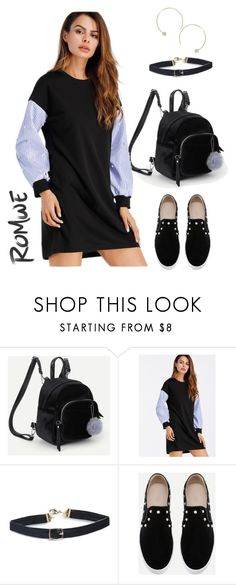 Be Trendy - Women's #casual #outfit #idea by on Polyvore featuring Romwe, Humble Chic and NineCarpStudioStore | How to wear #sweaterdress #fashion #spring #ninecarpstudiostore