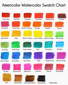 Use This Coloring Chart to Add a Splash of Color to Your Food | Food ...