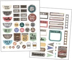Home Sweet Classroom Words To Inspire Stickers by Teacher Created Resources