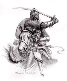 Pantserny, the first quarter of the XVII century. Crusader Knight, Knight Armor, Overwatch Wallpapers, Christian Warrior, Arabian Art, Legends And Myths, Dnd Art, Turkish Art, Dark Fantasy Art