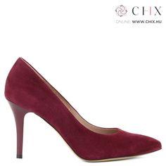 d98326cb06 Bordó Anis alkalmi cipő Nagyon elegáns, 9 cm magas sarkú alkalmi cipő nubuk  bőrből.