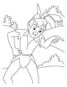 Peterpan coloring pages 3 | Download Free Peterpan coloring pages 3 for kids | Best Coloring Pages