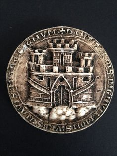 Seal of the city of Bergen Norway (1273)