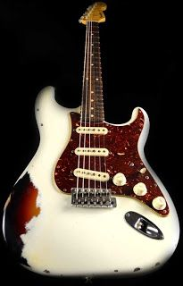 Fender CS '61 Arctic on Burst - Friday Strat #282 ~ Strat-O-Blogster Guitar Blog