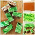 Creative Ideas - DIY Easy Chocolate Peppermint Slice