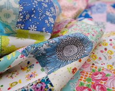 Pretty Patches - Liberty of London Tana Lawn | Red Pepper Quilts
