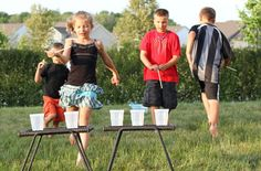Cheer on TEAM USA and use these outdoor activity ideas to have your own backyard games this summer.