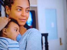 Beyoncé & Blue Blue There's Nothing More Precious Than A Mother's Love