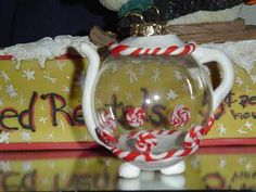 Polymer Clay teapot-Really cute as ornament