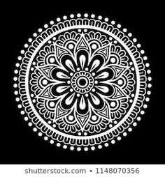 Find Mandala Pattern White Good Mood stock images in HD and millions of other royalty-free stock photos, illustrations and vectors in the Shutterstock collection. Thousands of new, high-quality pictures added every day. Mandala Doodle, Mandala Art Lesson, Mandala Canvas, Mandala Dots, Mandala Drawing, Mandala Painting, Mandala Pattern, Pattern Art, Henna Mandala